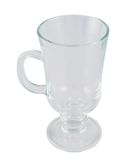 Glass empty tea cup Stock Image