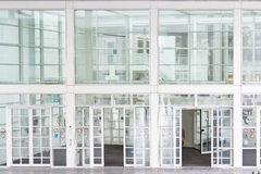 Glass Entrance Stock Image