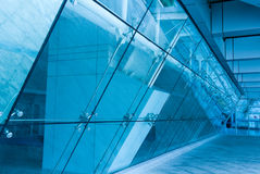 Glass Entrance To Modern Building Royalty Free Stock Image