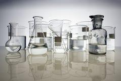 Glass equipment Stock Image