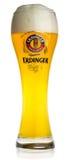 Glass of Erdinger light wheat beer Stock Photography