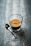 Glass of Espresso Stock Photo