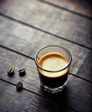 Glass of Espresso Stock Image