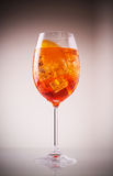 Glass of exotic drink, wine-based Royalty Free Stock Image