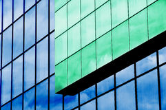 Glass exterior, building facade Royalty Free Stock Photos