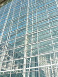 Glass exterior of modern building Royalty Free Stock Photo