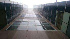 Glass fönster Arkivbild