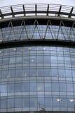 Glass fönster av affärsbyggnad Royaltyfria Bilder