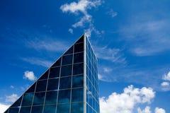 glass fönster för byggnadsfacade Royaltyfri Bild