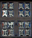 Glass fönster för krona i Aachen Royaltyfri Foto