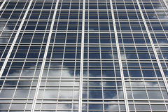 Glass facade Royalty Free Stock Photography