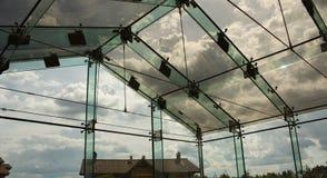 Glass facade royalty free stock image