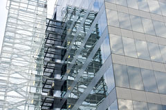 Glass facade. Royalty Free Stock Image