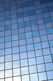 Glass Facade. Detail of a building with a glass facade Royalty Free Stock Images
