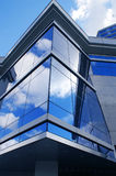 Glass facade. Modern building glass facade background Royalty Free Stock Photo