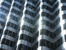 Glass facade. In San Francisco Royalty Free Stock Images