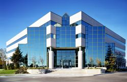Glass Facade Stock Photography
