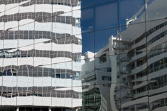Glass facade. Royalty Free Stock Photo