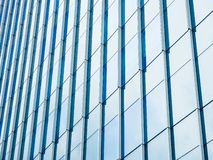 Glass Facade Architecture details Modern Building Exterior royalty free stock images