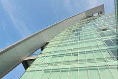 Glass Facade Of A Building Royalty Free Stock Image