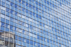 Glass facade of the building Royalty Free Stock Photography