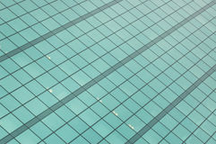 Glass facade  building. Detail of Glass facade office building Royalty Free Stock Photo