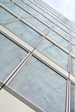 Glass facade. Of the building Royalty Free Stock Photography