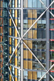 Glass facade of building Stock Image
