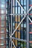Glass facade of building. Glass facade of the building Stock Photos