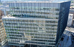 Glass facade of building Stock Photography