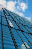 Glass Facade Building in New York City Royalty Free Stock Photo