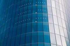 Glass facade of business building Stock Photos