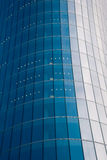 Glass facade of business building Stock Images