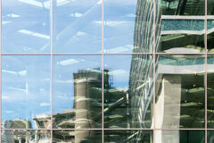 Glass facade. Royalty Free Stock Photos