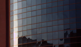 Glass facade. Image of a building with glass facade Royalty Free Stock Photography