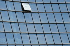 Glass facade Royalty Free Stock Photo