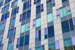 Glass facade of modern building Stock Photo