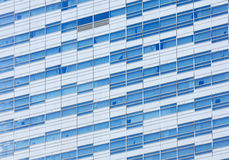 Glass facade of a modern building Royalty Free Stock Photo