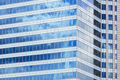 Glass facade of a modern building Stock Image