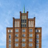 Facade of a modern building royalty free stock photography