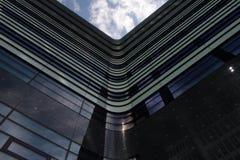 Glass facade. Stock Photos
