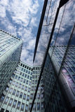 Glass facade. Royalty Free Stock Photography