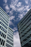 Glass facade. Royalty Free Stock Images