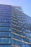 Glass facade of modern office building Stock Photos