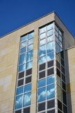 Glass facade of modern office building Royalty Free Stock Photography