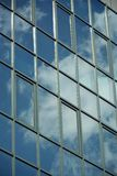 Glass facade of modern office building Royalty Free Stock Images