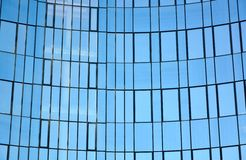 Glass facade of modern office building Royalty Free Stock Image