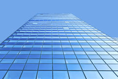 Glass facade of Modern skyscraper Royalty Free Stock Photos