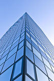 Glass facade of Modern skyscraper Royalty Free Stock Images