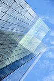 Glass facade of office building Stock Images
